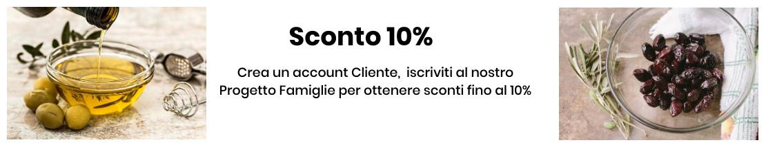 Sconto 10% Progetto Famiglie